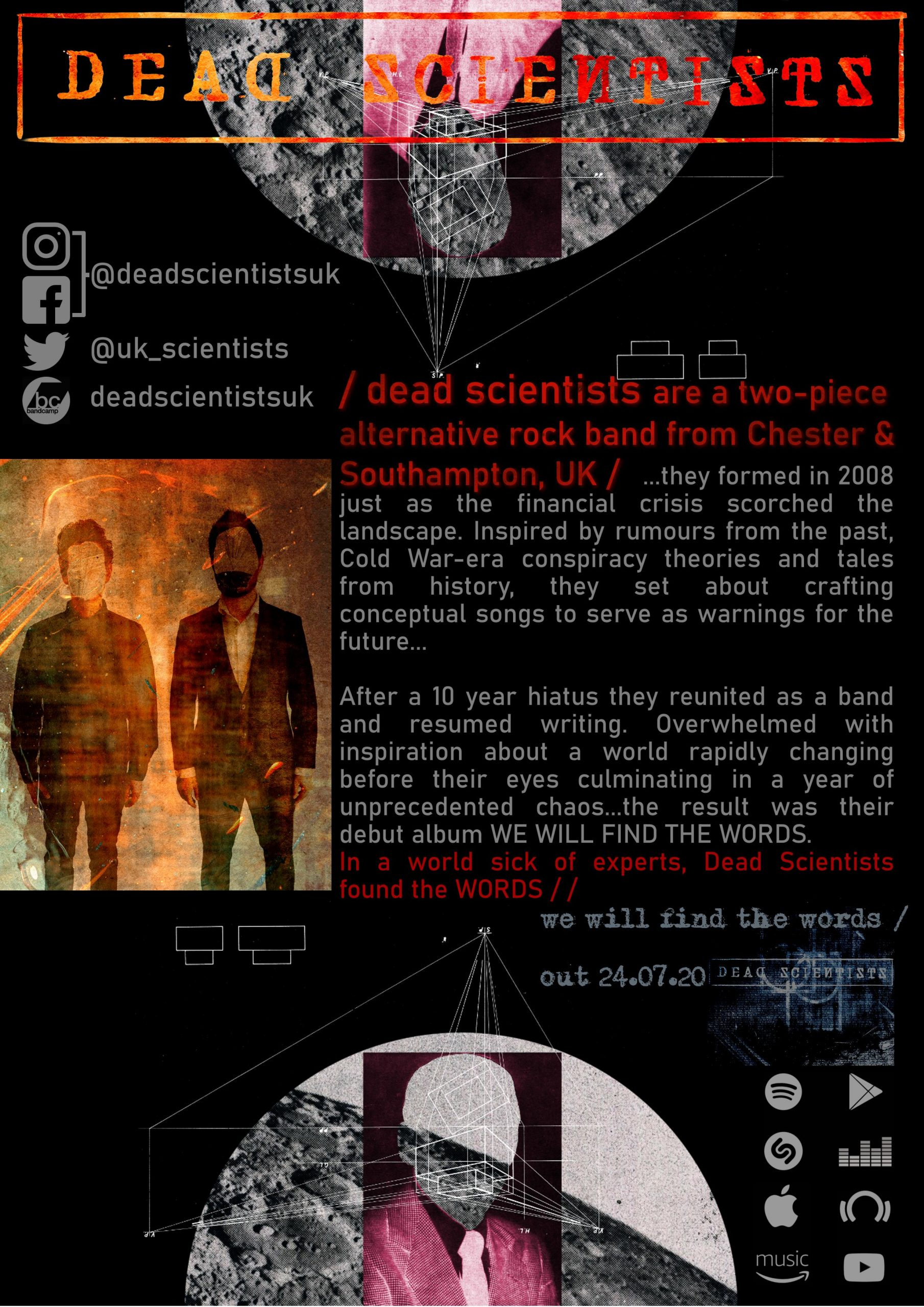 DEAD SCIENTISTS TAKEOVER